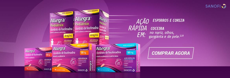 Compre Allegra com até 20% de desconto!