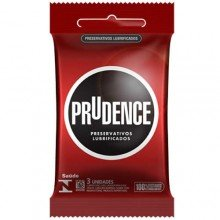 Preservativos Lubrificados Prudence Com 3 Unidades
