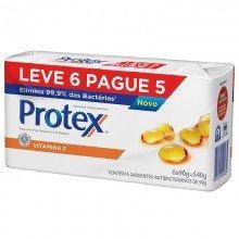 Sabonete Protex 90g Vitamina e Leve 6 Pague 5