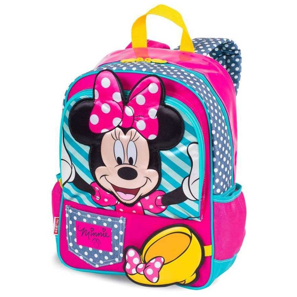 8c9008d3f Comprar Mochila Escolar Média Minnie Ref-064044-00