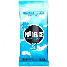 Preservativo Prudence Ultra Sensível Com 6 Unidades