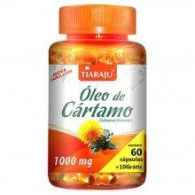 óleo de Cártamo Tiaraju 1000mg Com 60 Cápsulas