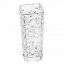 Vaso Cristal Bubble Bud Incolor 6.5cm X 15.5cm