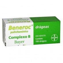 Beneroc Complexo B Com 100 Drágeas Bayer
