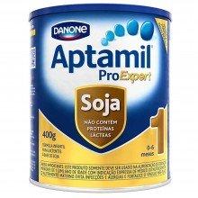 Aptamil Pró Expert Soja 1 - 0 A 6 Meses 400g
