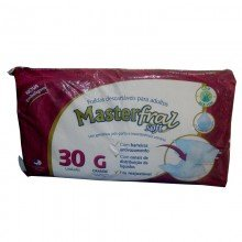 Fraldas Geriátricas Descartáveis Masterfral Soft Grande Com 30 Unidades