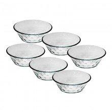 Conjunto de Tigelas Para Sobremesa Com 6 R-389