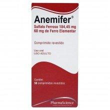 Anemifer Com 50 Comprimidos