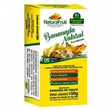 Bananada Natural Naturafruti Com 6 Unidades