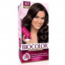 Tintura Biocolor Mini Kit Creme 4.7 Marrom Escuro da Moda