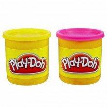 Play-doh Massinha Com Com 2 Potes Ref-23655