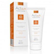 Protetor Solar Actsun Facial Fps 60 Sem Perfume Hipoalergênico  Com 60 Ml