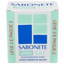 Sabonete Gh Leve 3 Pague 2 Neutro e Hidratante 100g Cada