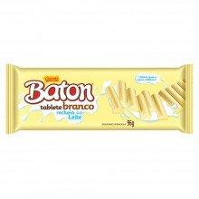 Chocolate Baton Tablete Branco 96g