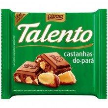Chocolate Talento Garoto Castanhas-do-pará 25g
