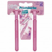 Aparelho Prestobarba Gillette For Women C/ 02 Unidades.