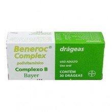 Beneroc Complex (complexo B) Com 30 Drágeas