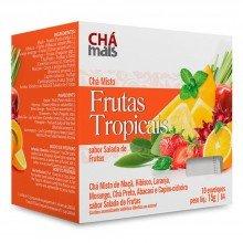 Chá Mais  Frutas Tropicais 10 Saches Com 15g Cada