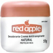 Desodorante Red Apple Creme Natural 55g