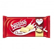 Chocolate Em Barra Nestlé Classic Duo 100g