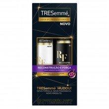 Kit Tresemmé Shampoo 400ml e Condicionador 200ml Reconstrução e Força