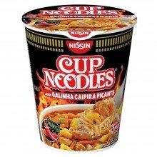 Cup Noodles Nissin Galinha Caipira Picante 72g