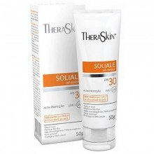 Soliale Gel Creme Fps30 Theraskin 50g