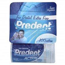 Fio Dental Predent Action Extra Fino 100 Metros