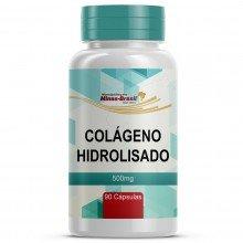 Colágeno Hidrolisado 500 Mg - 90 Cápsulas