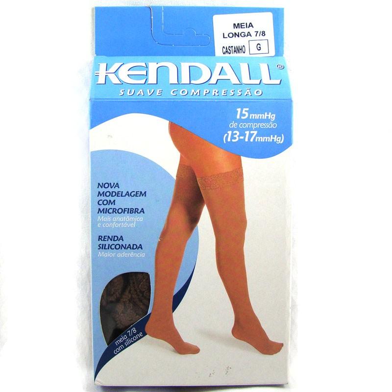 e96534f27 Comprar Meia Longa Kendall Castanho G Com Ponteira Ref