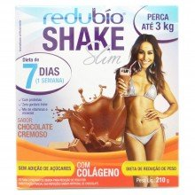 Redubio Shake Sabor Chocolate Cremoso 210g